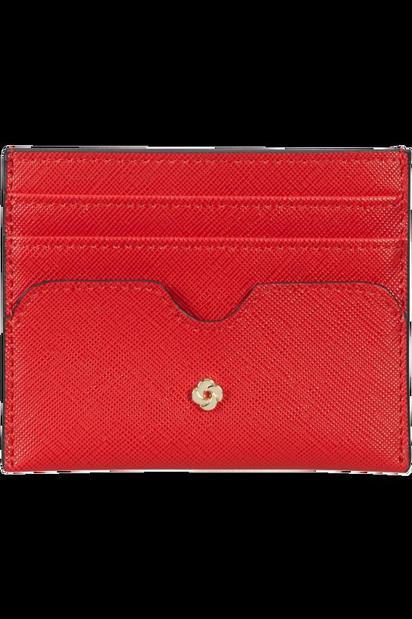 Samsonite Wavy Slg 337 - 6 Credit Card Holder  Classic Red