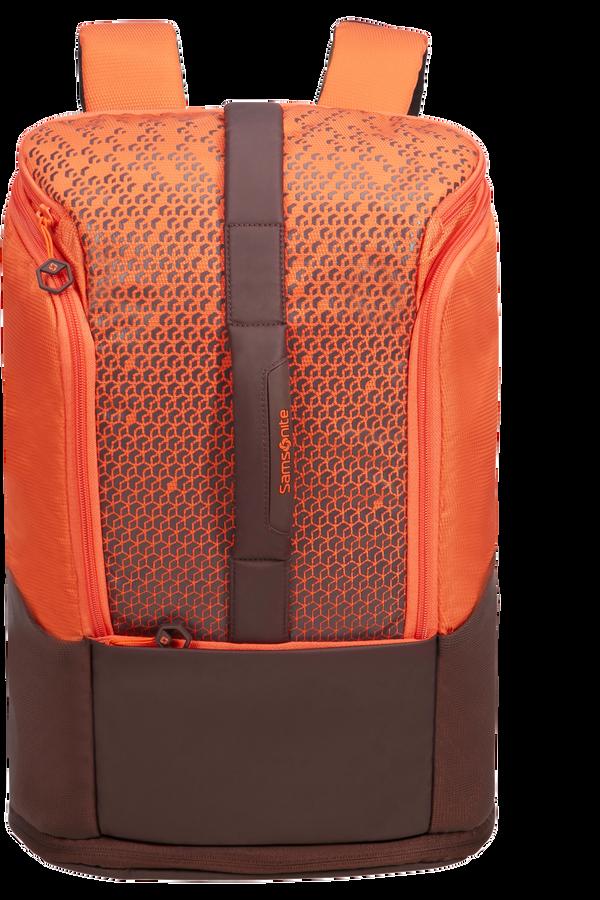 Samsonite Hexa-Packs Laptop Backpack Exp M 14inch Orange Print