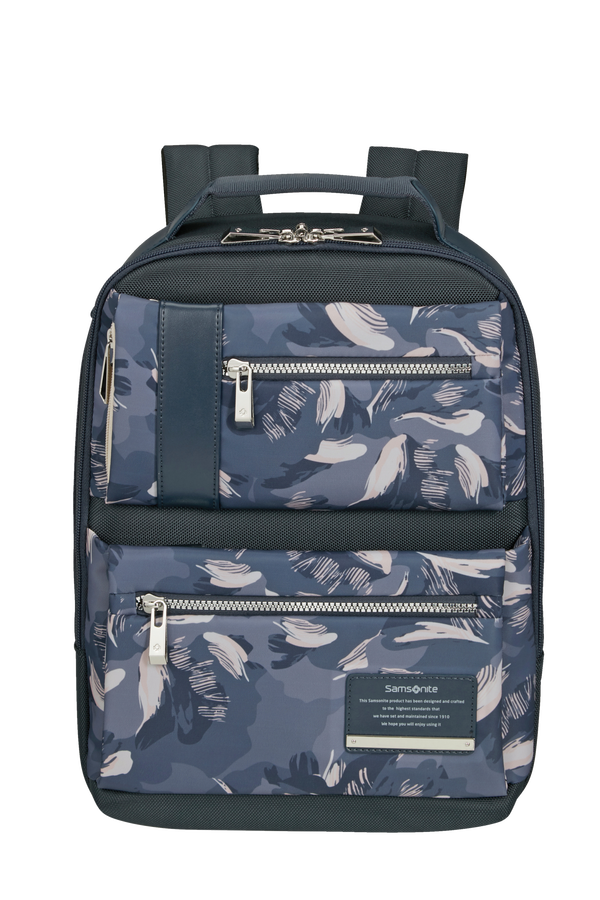Samsonite Openroad Chic Backpack Slim Print 13.3'  Deep Blue/Camo