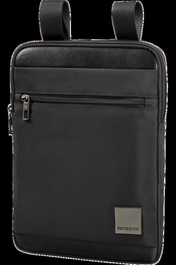 Samsonite Hip-Square Flat Tablet Crossover  24.5cm/9.7inch Black