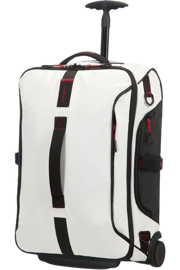 Samsonite Paradiver Light Duffle with wheels 55cm White