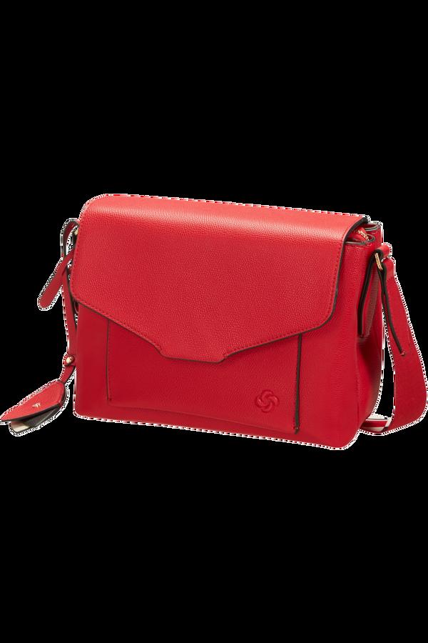 Samsonite Seraphina Shoulder Bag + Flap  Scarlet Red