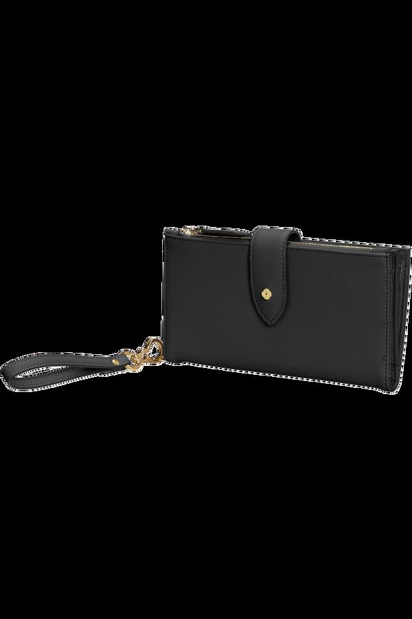 Samsonite Wavy Slg 339 - L W 14CC+Phone Pocket  Black
