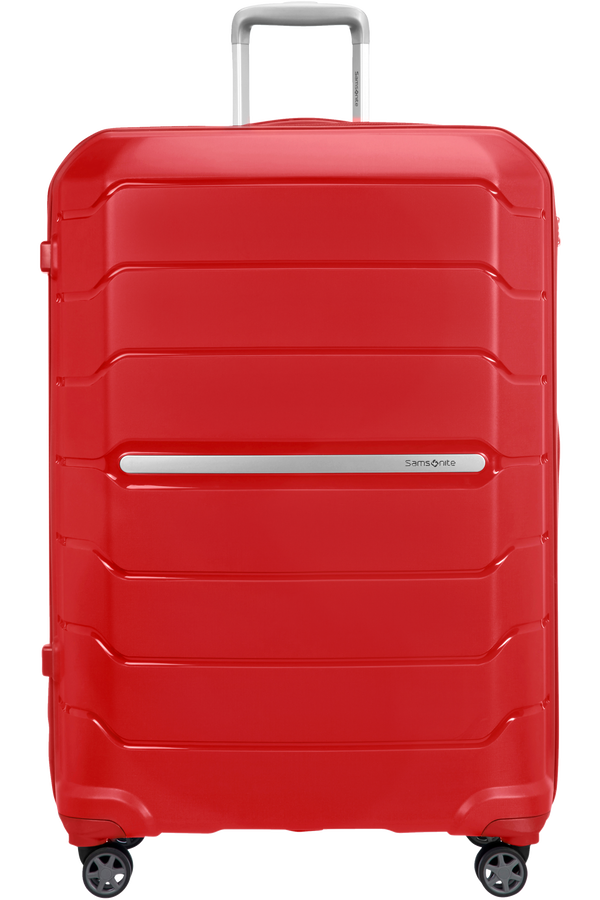Samsonite Flux Spinner Expandable 81cm  Red