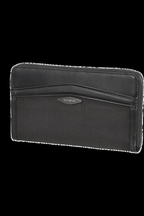 Samsonite Selar Travel Wallet  Black