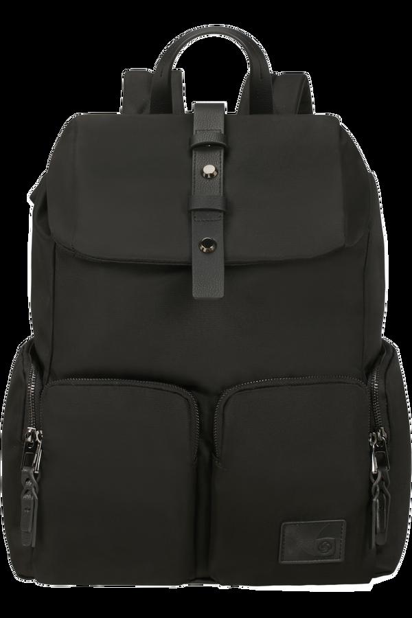 Samsonite Yourban Laptop Backpack + Flap  14.1inch Black