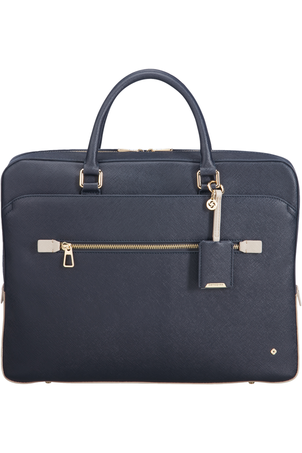 Samsonite Lady Becky Bailhandle  15.6inch Blue/Grey