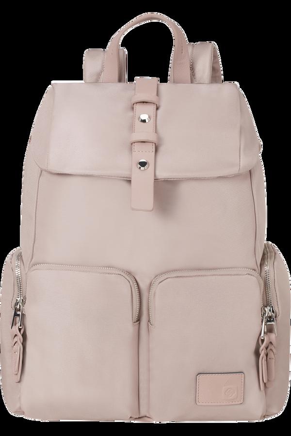 Samsonite Yourban Laptop Backpack + Flap  14.1inch Rose
