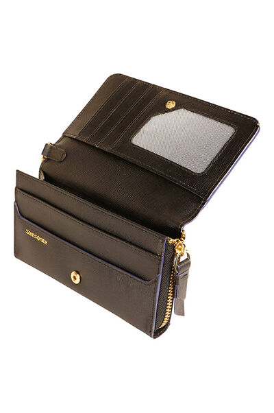 Lady Saffiano II SLG Clutch Bag