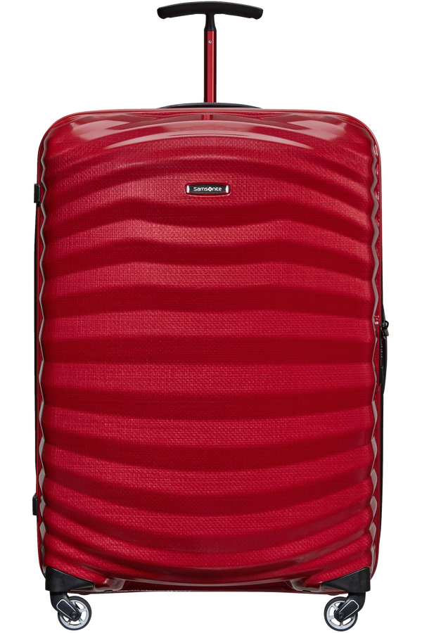 Samsonite Lite-Shock Sport Spinner 75cm  Bright Red/Silver