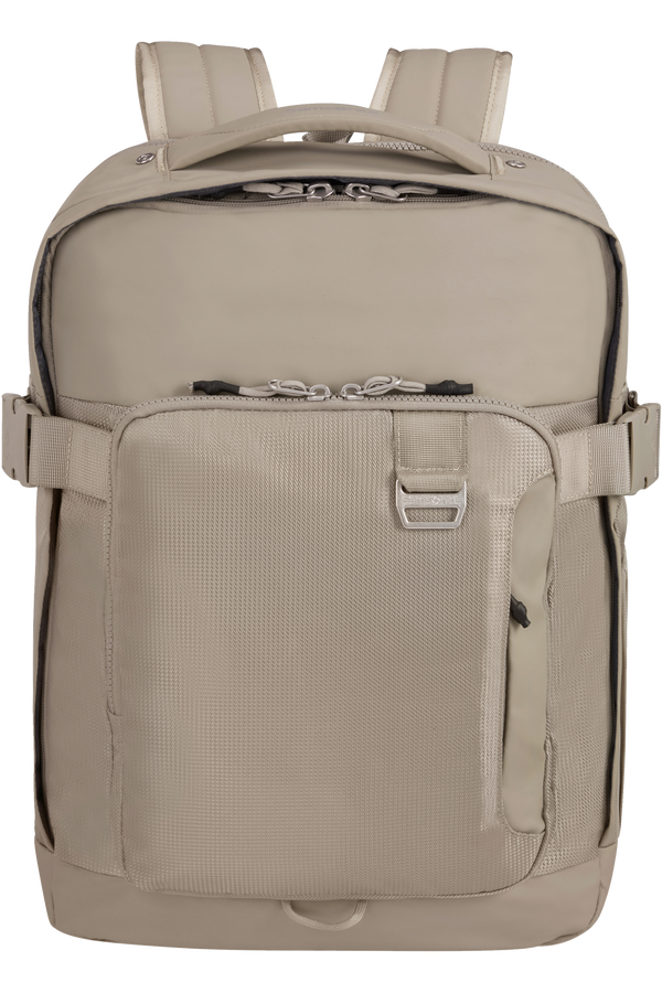 Samsonite Midtown Laptop Backpack Expandable L 15.6inch Sand