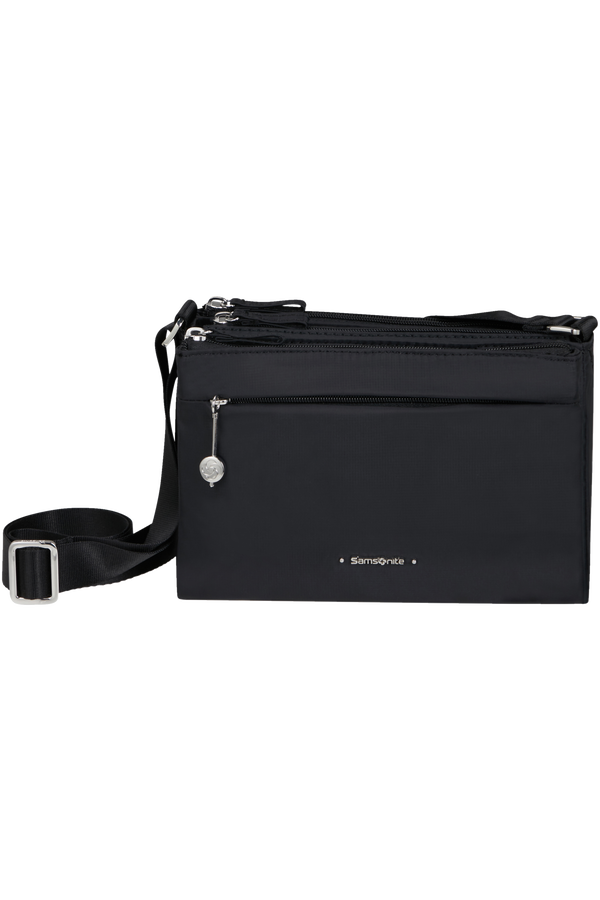 Samsonite Move 3.0 H.Shoulder Bag 3 Comp S  Black