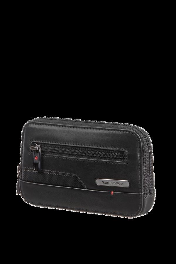 Samsonite Pro-Dlx 5 Slg 524-Z Round Key Pouch+2R  Black