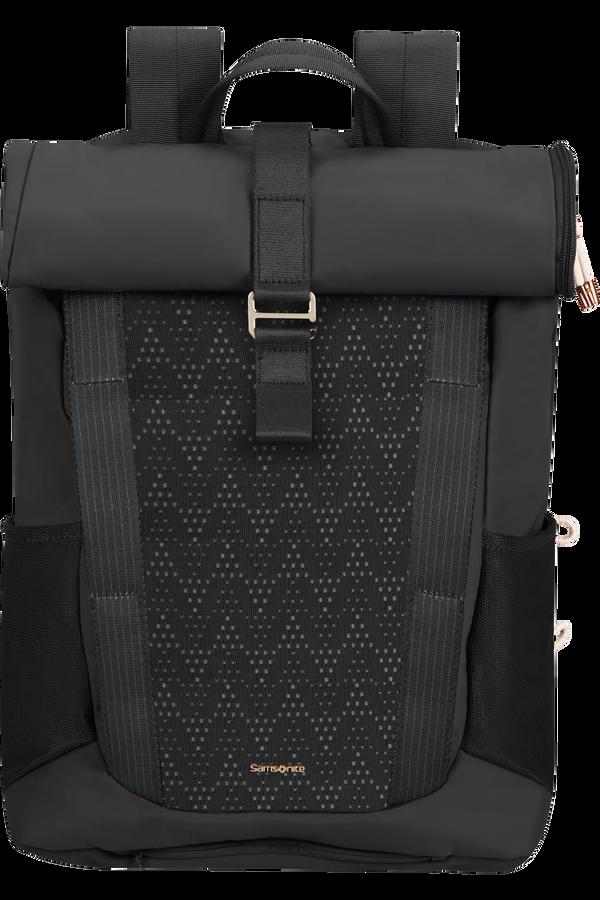 Samsonite 2WM Lady Roll Top Backpack  15.6inch Black