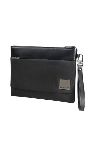 Hip-Square Clutch Bag