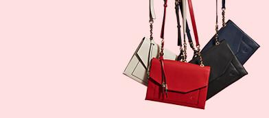 Satiny Matching Handbags