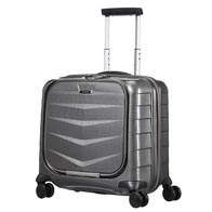 Dedicated cabin collection which fits a number of airlines' hand luggage dimensions.