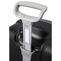 Light wheel handle for easy manoeuvrability.
